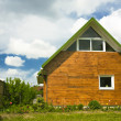 Stock Photo: Beautiful small house
