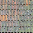Royalty-Free Stock Photo: Old tiles roof