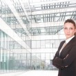 Stock Photo: Portrait of business woman