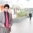 Portrait of a salesman - Stockfoto