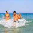Having fun in the sea — Stock Photo #2824125