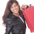 Shopping pretty woman - Foto Stock