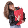 Shopping pretty woman - Stockfoto