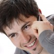 Young casual man on the phone — Stock Photo #2913749