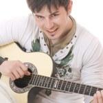 Man with guitar — Stock Photo #2913801
