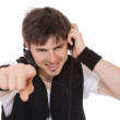 Man Enjoying Music — Stock Photo #2913831