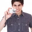 Man taking pictures — Stock Photo #2994684