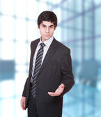 Portrait of a successful business man — Stockfoto