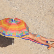 Summer on the beach in Greece — Stock Photo #3021557