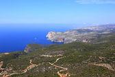 Overview on Zakynthos island — Stock Photo