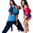 Royalty-Free Stock Photo: Hip-hop dancing team
