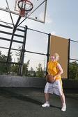 Basketball training — Stock Photo