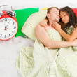 Sunday morning laziness - Stock Photo