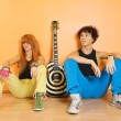Rock band leisure time — Foto de Stock