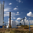 Oil well 23 - Stock Photo