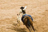 Breakaway roping — Stock Photo