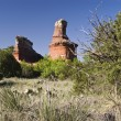 Stock Photo: Lighthouse Peak in Palo Duro Canyon