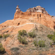 Stock Photo: Capitol Peak in Palo Duro Canyon