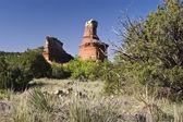 Lighthouse Peak in Palo Duro Canyon — Stock Photo