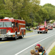 Stock Photo: Fire Truck Parade 6