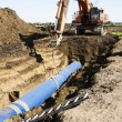 Pipeline Construction - Stock Photo