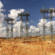 Transmission Towers — Stock Photo