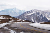 Scenic Mountain Highway — Stock Photo