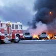Truck Fire 3 — Stock Photo