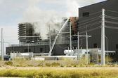 Incendio industrial 1 — Foto de Stock