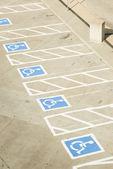 Handicap parking 2 — Stock Photo