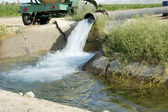 Irrigation ditch 1 — Stock Photo