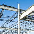 Structural steel construction - Stock Photo
