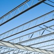 Structural steel construction — Stock Photo