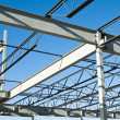 Structural steel construction — Stock Photo #3196149