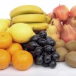 Fruit selection isolated over white — Stock Photo #3103495