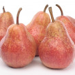 Pears over white abckground — Stock Photo