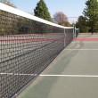 Outdoor tennis court — Stock Photo
