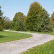 Walking path in a park — Stock Photo #2743572