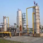 Gas separators — Stock Photo