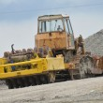 Yellow Excavator at Construction Site — Stock Photo #3406064