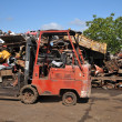 Cars junkyard -  