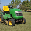 Green lawn mower — Stock Photo #3892097