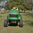 Green lawn mower — Stock Photo #3892119