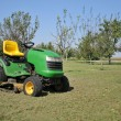 Green lawn mower — Stock Photo #3892130