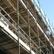 Stock Photo: Scaffolding.