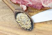 Tempero de carne — Fotografia Stock
