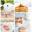 Healthy Breakfast Collage — Stock Photo #2872414