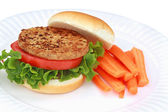 Vegan Burger — Stock Photo