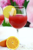 Cranberry Fizz — Stock Photo