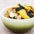 Stir Fried Squash — Stock Photo